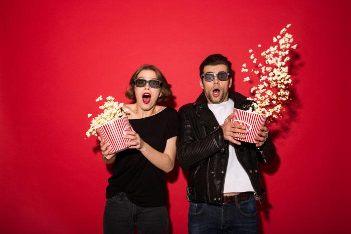 Películas de redes sociales en el cine