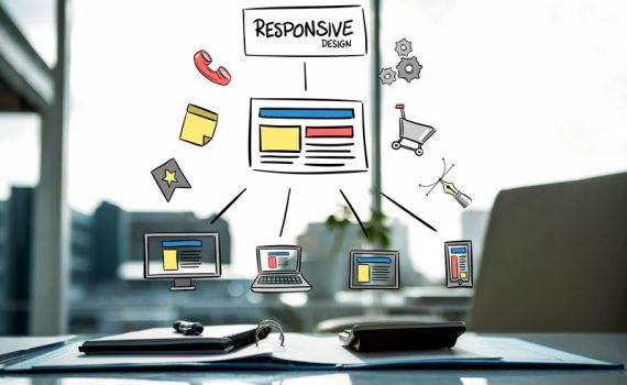 diseño web responsive que permite adaotar el sitio web a cualquier dispositivo